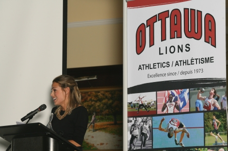 (Ottawa, ON -- 21 November 2015)  at the 2015 Ottawa Lions Awards Gala. Copyright Abdi Abdirahman, 2015